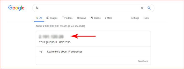 آموزش بدست آوردن IP اینترنت